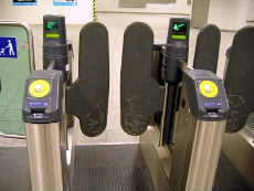 London Underground Ticket Barrier