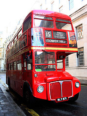 London Bus Number 15