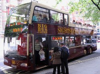 The Big Bus Sightseeing Tour of London