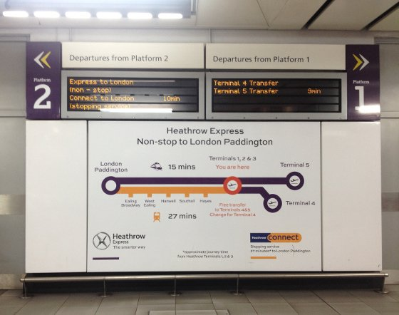london 2 for 1 train