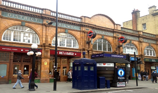 Entrance to Earl's Court tube station