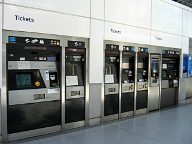 Tube Station Ticket Machines