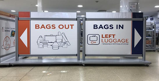 Where To Store Bags In London Left Luggage Offices